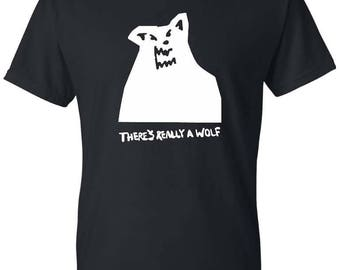 Russ Album Shirt There's Really A Wolf