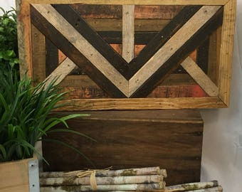 Rustic abstract wood wall hanging, abstract wall mural, rustic home decor, country home decor, cabin decor