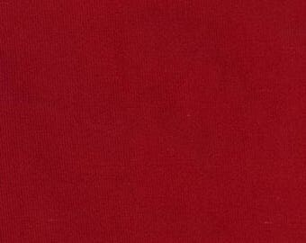 Red Corduroy Fabric, Christmas Red 21 wale featherweight corduroy, FABRIC FINDERS Fabric, 100% cotton