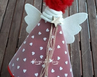 Angel-Toecap-Angel Toecap-Christmas decoration-Decoro Natale-Angel Handmade