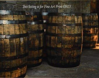 Bourbon Barrels and Limestone