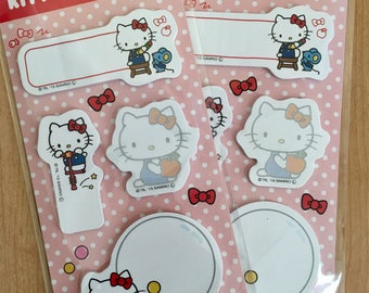 Hello Kitty Sticky pads (2 packages)