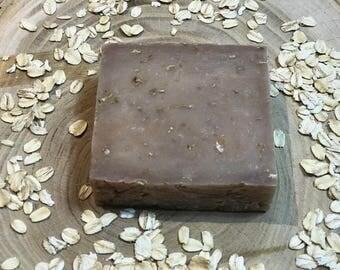 Oatmeal Milk and Honey, Handmade Soap, Goats Milk Soap, Natural Soap