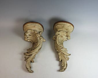 Pair of Molded French Sconces