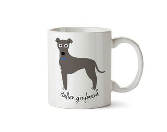 Italian Greyhound Mug (boy)