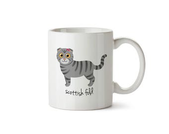 Scottish Fold Mug (girl)