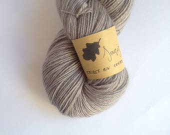 Mouse - Skein of baby alpaca hand dyed