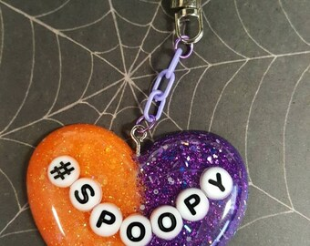 Spoopy Halloween Keychain