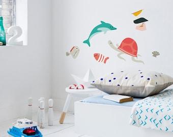 Wall sticker 'SEA TURTLE'
