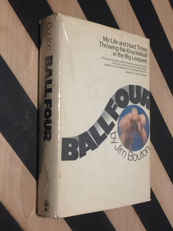 Ball Four by Jim Bouton (1970) hardcover book