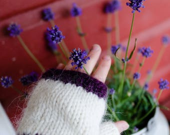 Fingerless Mittens, Icelandic Mittens, Wrist warmers, Knit wrist warmers, Fingerless wool mittens, Fingerless gloves, Icelandic knit, Gloves