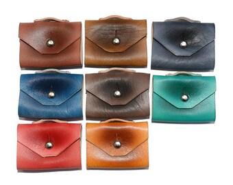 Tan Leather Earphone Organizer / Headphone Holder, Cable Organizer / Headphone Case, Cable Holder, Cord Organizer, Cord Holder
