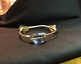 Teardrop Wire Bracelet