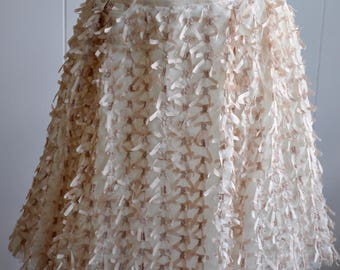 AS IS Tulle and Ribbon Skirt ala Carrie Bradshaw by Monkey Wear