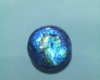 Blue Rainbow Moonstone 20 MM Cabochon