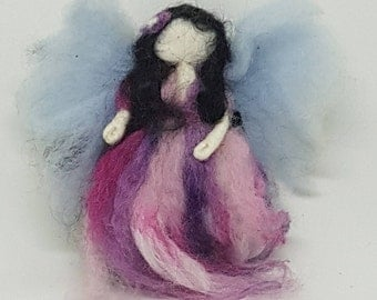 Fairy's, Needle felted, Handmade, Soft sculpture