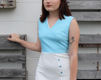 Simply Adorable 1970s Dress