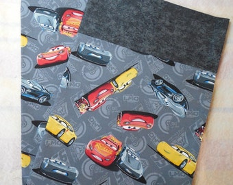 Disney Cars-Cars Pillowcase-Pillowcase Made from Disney Cars 3 Movie-Disney-Pixar Cars-Kids Pillowcase-Toddler Pillowcase