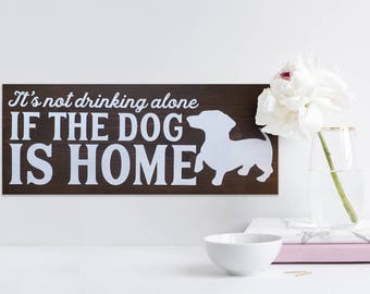 Awesome Painted Wooden Dog Sign, Wooden Sign With Quote, Funny Kitchen Sign, Dog  Lover