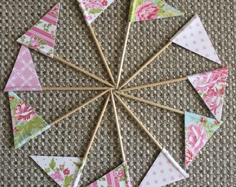 Cupcake Flags - Patterned Assortment