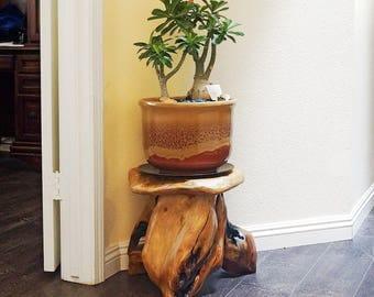 mushroom stool video game theme custom furniture. perfect furniture handmade wood root stool 14 to mushroom video game theme custom furniture t