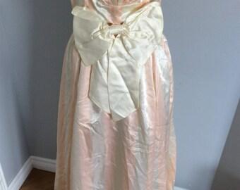 Vintage dress pink satin Gunne sax