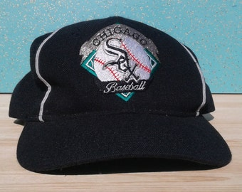 Vintage 90's Chicago White Sox The Game Strapback Wool Baseball Cap