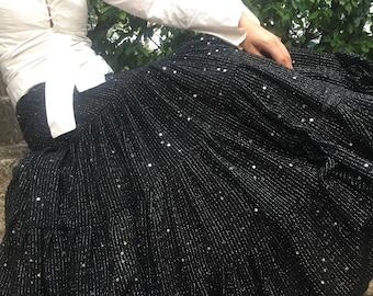 LENTIES: long skirt, extra long maxi skirt, maxi skirt, black maxi skirt, black skirt, black skirt, long evening skirt, long evening dress