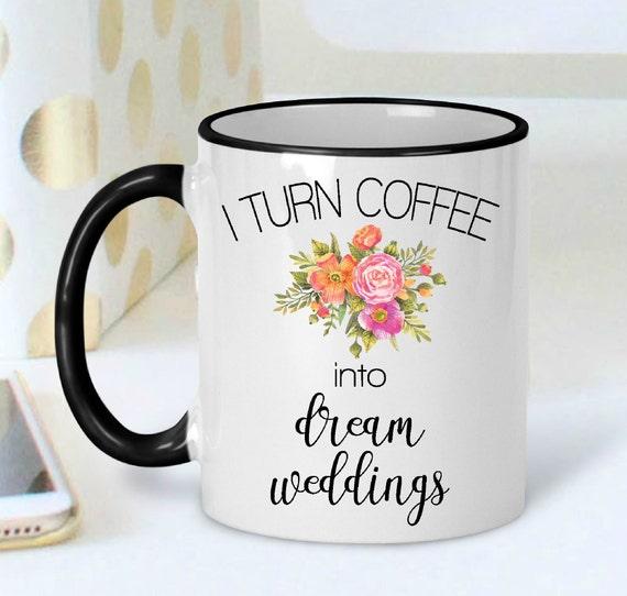 Wedding Planner Mug Gift Event