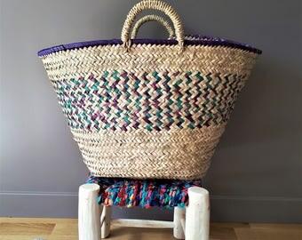 Woven basket - handmade