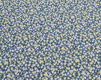 Wildflowers VII-Blue Bonnett Cotton Fabric from Sentimental Studios for Moda Fabrics