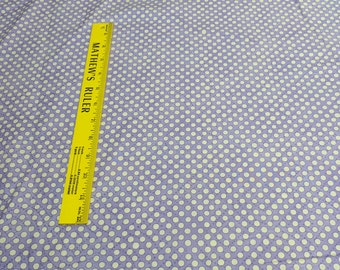 Riverwoods Collection-Napa-Beige Dots on Purple Cotton Fabric from Troy