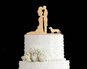 Dachshund cake topper,dachshund cake topper wedding,dachshund wedding,Dachshund cake,Wedding topper Dachshund,Dachshund silhouette,6452017