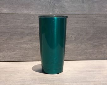 Ready to Ship! Translucent Teal Powder Coated Ozark Trail 20 oz. Tumbler - Stainless Steel Tumbler - Laser Engraved Tumbler - Custom Gifts