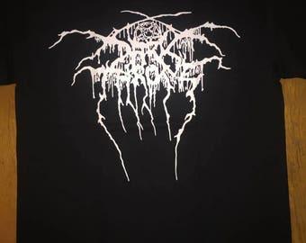 Dark Throne Darkthrone Logo Shirt