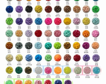 5mm S-Series (98 Colors) - Perler Beads Refill (500 / 1,000 pcs)(No.S01 to No.S69)