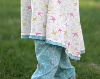 Kitten Yoga Pants for baby and toddler // gender neutral pants // cat pants //baby trousers