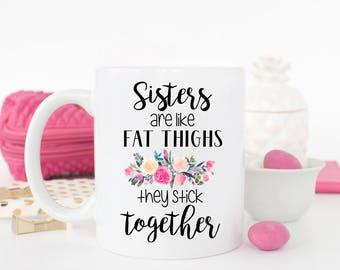 Sister Mug, Funny Sister Mug, Sister Gift, Funny Sister Gift, Gift for Sister, Worlds Best Sister, Sister Coffee Mug, Best Sister Ever