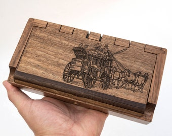 Cash box Small Jewelry box Watch box Small wooden box