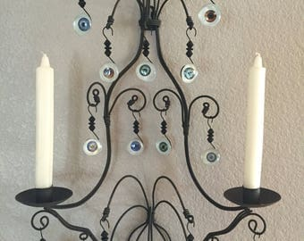 Eye Collection Candle Sconce