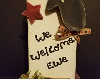 We Welcome Ewe [Primitive Sheep]