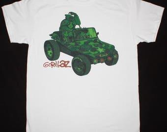 Gorillaz Gorillaz white t shirt