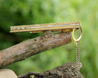 Tie Clips Vintage gift for Him men Jewelry men accessories Jewelry Vintage mens vintage boho vintage groomsmen Tie Clip for  Dad