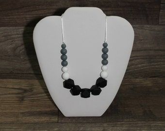 Silicone Teething Necklace | Modern | Perfect Gift | Handmade in Canada | Unique | Teething | Kenton Creations