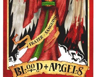 40k lifesize banner, Blood Angels