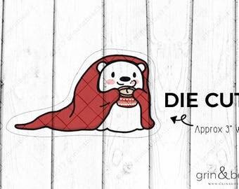 Blanket Barry! - Barry the Bear Diecut