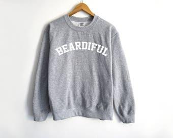 Beardiful Sweater - Beard Sweater - Trendy Sweater - Husband Sweater - Dad Sweater - Dad Gift - Gift For Dad - Boyfriend Gift - Boyfriend