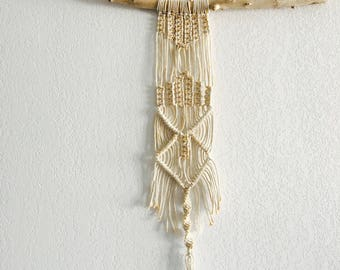 GOLD Macrame knotting