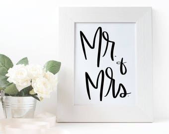 Instant Download - Mr. and Mrs. Digital Download