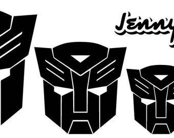 Autobot Logo Vinyl Decals